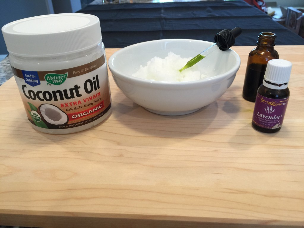 ingredients for Cannabis Cream